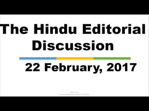 Hindi,22 February, 2017,  The Hindu Editorial Discussion. Stent's Rate Regulation, Bharat QR