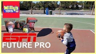 ESPN Future Pro Basketball Football Soccer Ball Baseball Softball TOY REVIEW - Willy