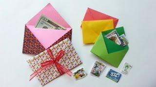 Christmas Gift Envelope in Less Than 3 Minutes- Sobre decorativo para Navidad