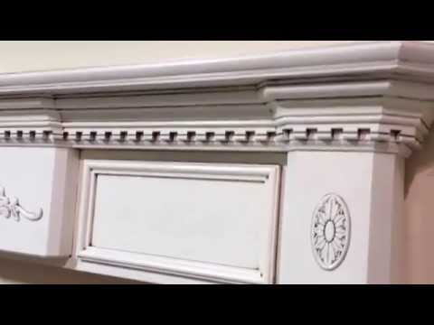The Sharpsburg Mantel - Clean Antique Glaze Finish