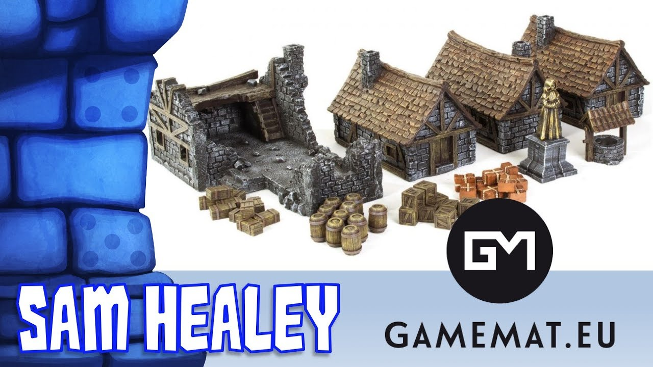 Medieval Town Terrain Set Review with Sam Healey