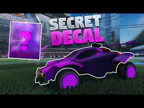How To Get The New Secret Decal On Rocket League (Future Shock Design) thumbnail