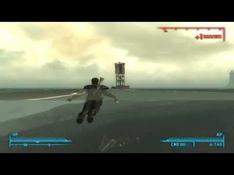 Fallout 3 SECRET:POINT LOOKOUT DINOSAUR REMAINS |