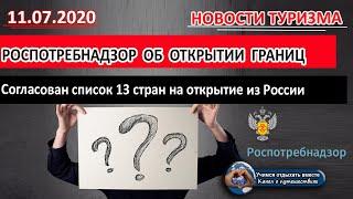 список открытия границ россии