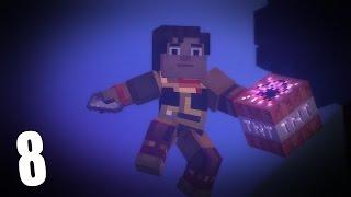 Прохождение Minecraft Story Mode 8 - Пора сделать БУМ
