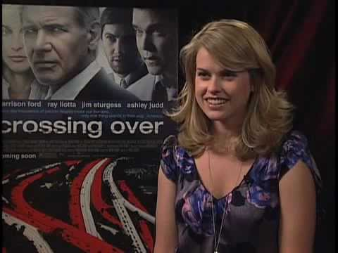 Alice Eve Crossing Over