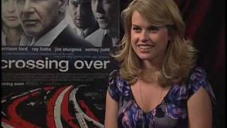 Alice Eve (Crossing Over) Interview 2009