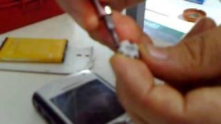 Reparacion perla blackberry 8100