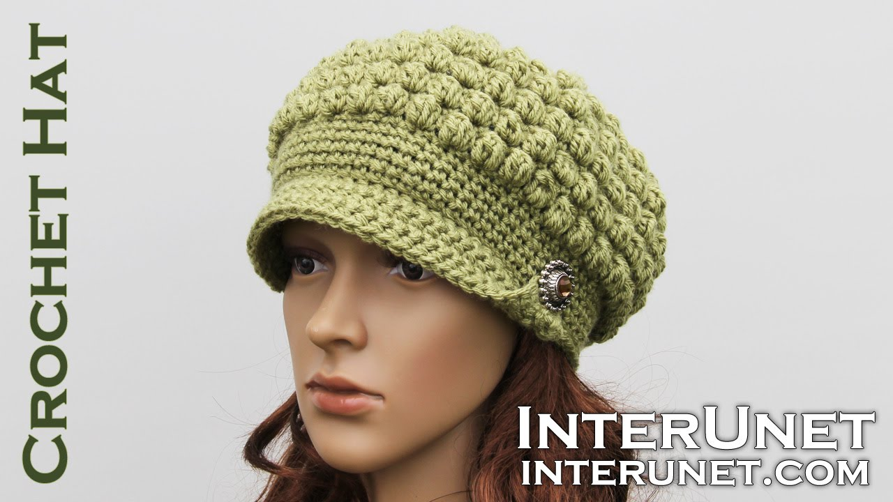Crochet a hat video tutorial for beginners part 2 of 2 youtube crochet a hat video tutorial for beginners part 2 of 2 baditri Image collections