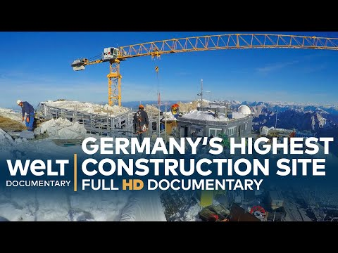 RIDE TO THE TOP - Germany's Highest Construction Site | Full Documentary