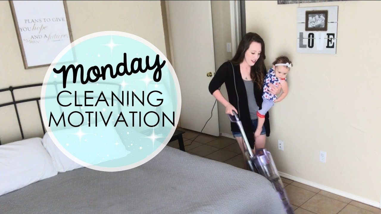 MONDAY CLEANING MOTIVATION    ULTIMATE CLEAN WITH ME   ANDREA CONNER