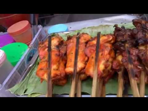 BANGKOK STREET FOOD, WALK AROUND CENTRAL BANGKOK, NANA, SUKHUMVIT, SOI ARAB