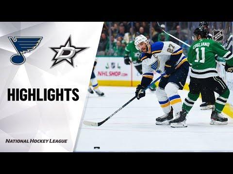 NHL Highlights | Blues @ Stars 11/29/19