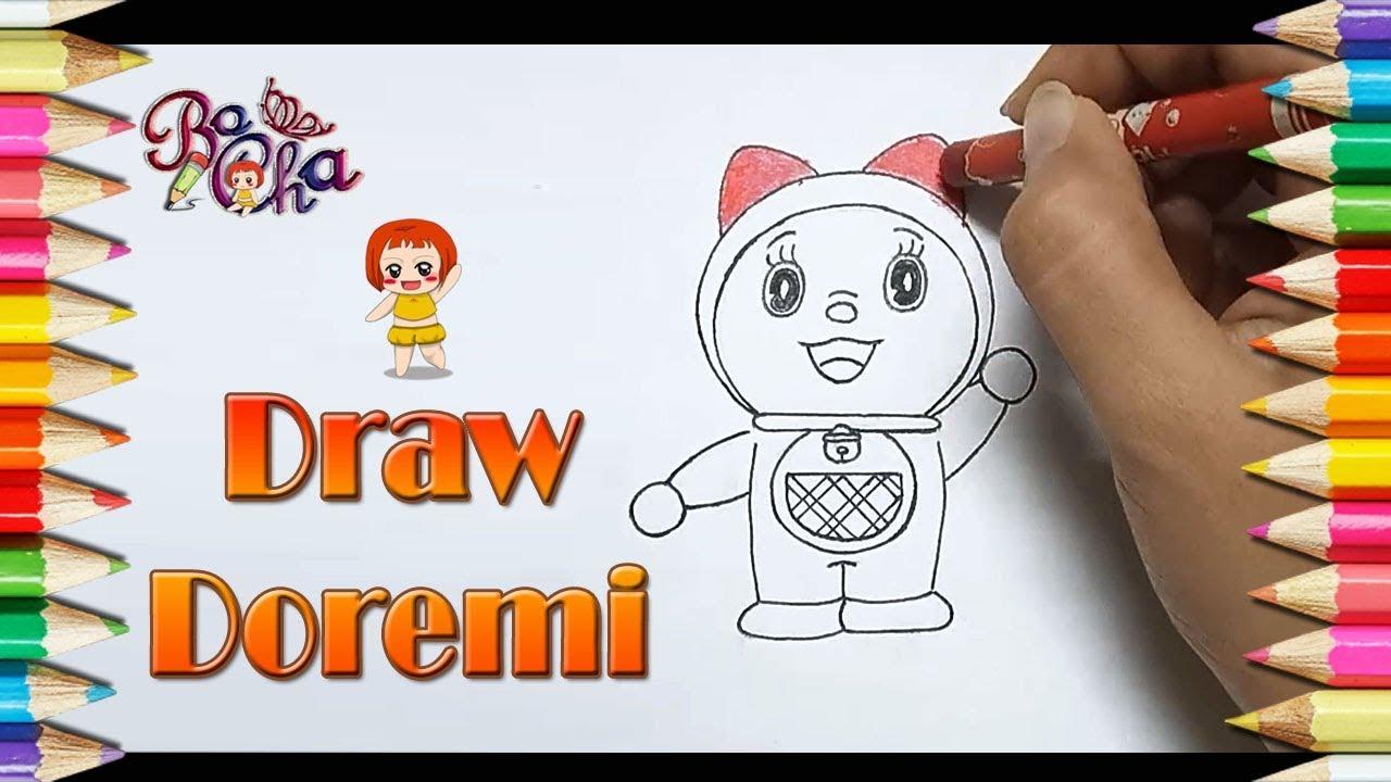 vẽ doremi đơn giản – BoCha – How to draw doremi