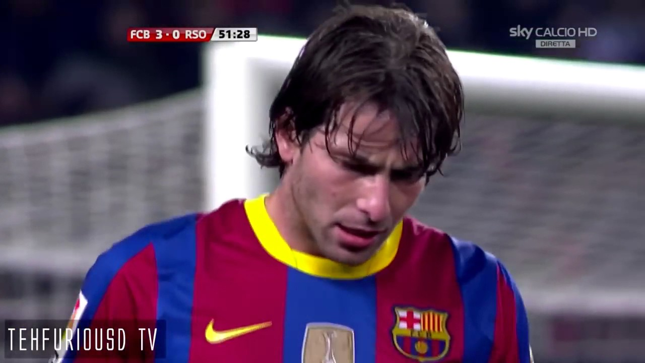 Barcelona vs Real Sociedad 5-0 (2010 - 11) - YouTube
