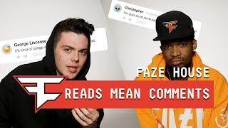 FaZe Clan Read Mean Comments