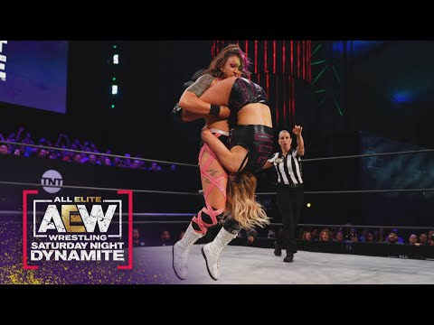 Was Kris Statlander Able to Hold-off the Bunny? | AEW Saturday Night Dynamite, 6/26/21