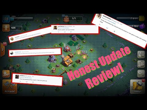 Clash of Clans Game Update, Want an Honest First Impression?