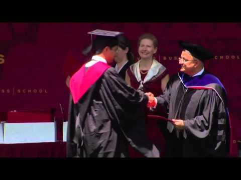 Harvard Business School Commencement 2014