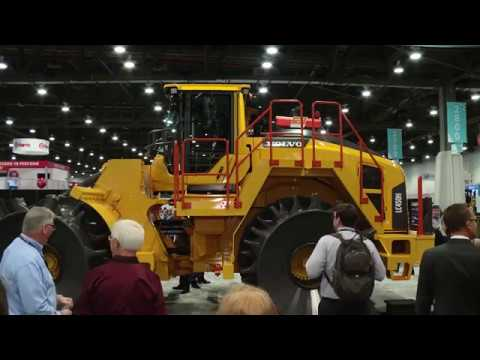 Volvo CE Unveils LC450H Landfill Compactor at WasteExpo