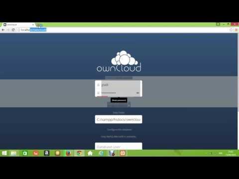 Tutorial Instal Owncloud Di Windows Menggunakan Xampp