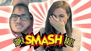 MOST AWKWARD GAMEPLAY / Super SMASH Bros