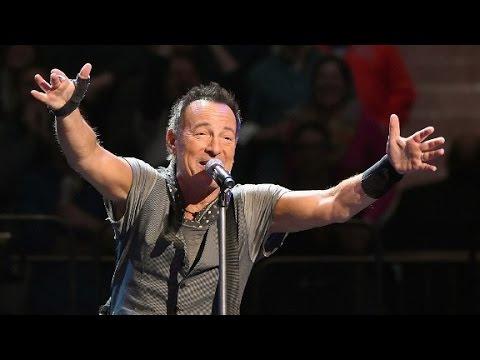 Bruce Springsteen reveals he's battling depression