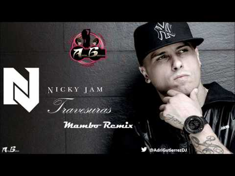Nicky Jam - Travesuras (Adrián Gutiérrez Merengue Version) Octubre 2014