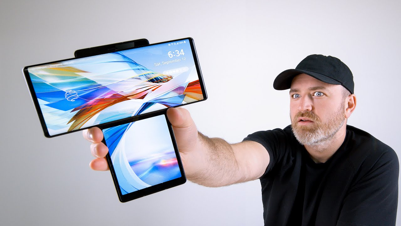 LG Wing Unboxing - This Thing is WILD