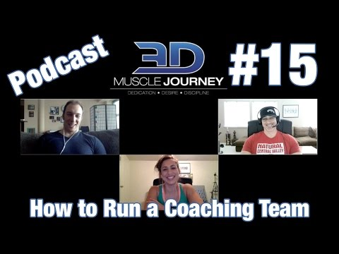 3DMJ Podcast #15: How To Run A Coaching Team