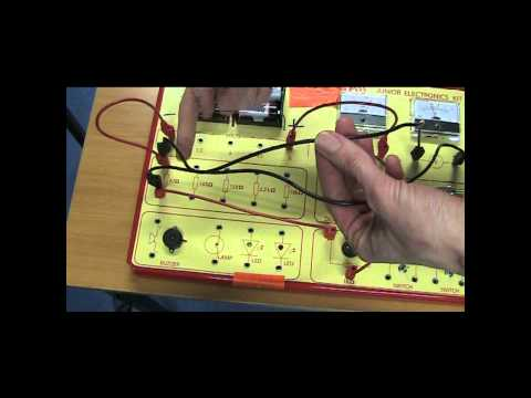 Ohm's Law with electronics kit