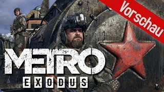 E3 2018 | Metro Exodus Preview / Vorschau - Endzeit-Shooter in Russland