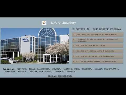 Online degree programs- DeVry University