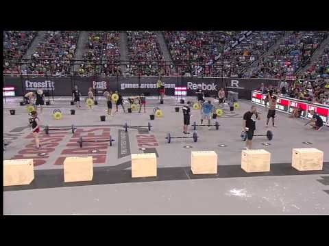 2012 CrossFit Games - Chipper: Individual Men, Heat 3