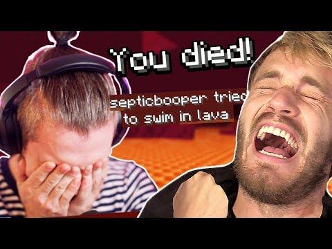 I HATE Minecraft w/ pewdiepie