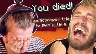 I HATE Minecraft w/ pewdiepie