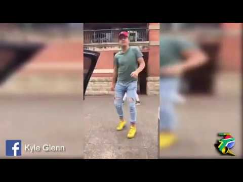 White guy dancing to Gqom!