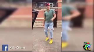 white guy dancing to gqom