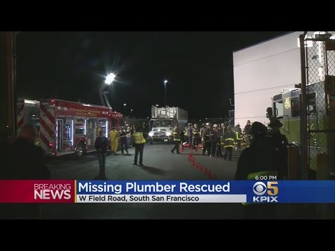 Dramatic Rescue After Explosion Traps Workers In UndergroundTunnel Near SFO