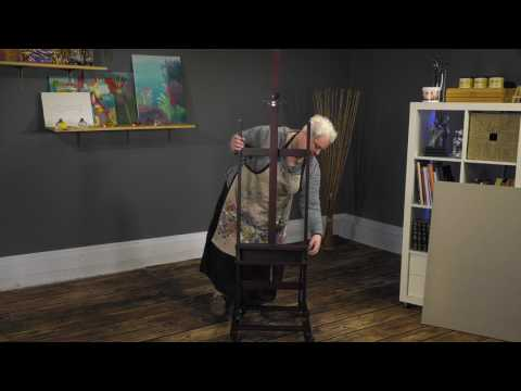 SoHo Urban Artist H-Frame Studio Easel - Product Demo