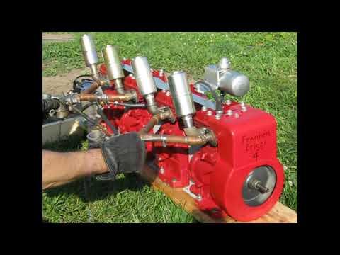 2 Thru 8 Cylinder FrankenBriggs Engine Runs!