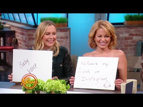 How Well Do Candace Cameron Bure and Her Daughter Natasha Know Each Other?