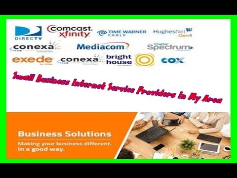 Small Business Internet Service Providers In My Area