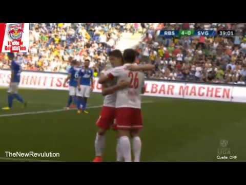 Red Bull Salzburg vs. SV Grödig   8:0 - Die Highlights(10.08.2014)