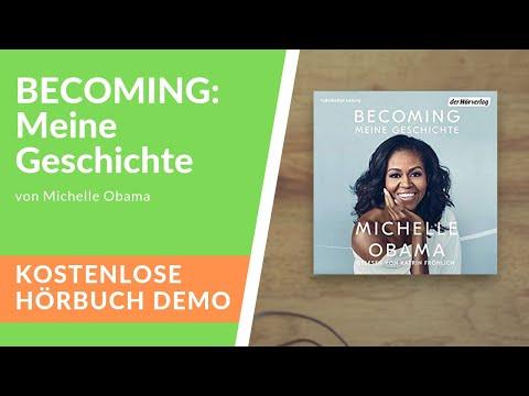 🎧 BECOMING: Meine Geschichte von Michelle Obama – Kostenlose Hörbuch Demo Mp3