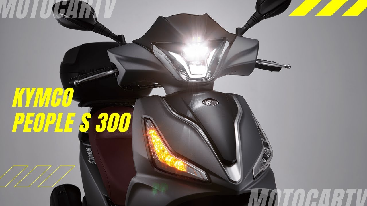 KYMCO All New People S 300