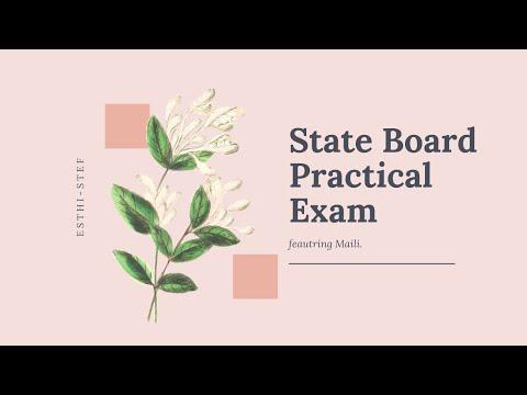Esthetician CA State Board Practical 2020 PRE- COVID