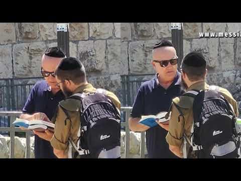Israeli IDF Soldier Stunned By The Gospel - Messianic Rabbi Zev Porat