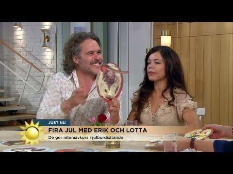 Skrattfest med Erik Haag och Lotta Lundgren - Nyhetsmorgon (TV4)