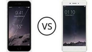 oppo a37f vs iphone 6